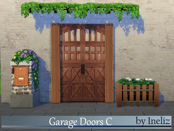 The Sims Resource: Garage Doors C by Ineliz