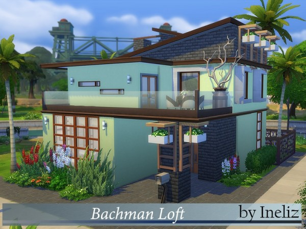 The Sims Resource: Bachman Loft by Ineliz