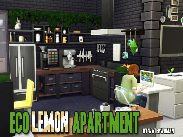 Akisima Sims Blog: Room Build: Eco Lemon Complex
