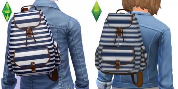 Around The Sims 4: Backpack by Sandy