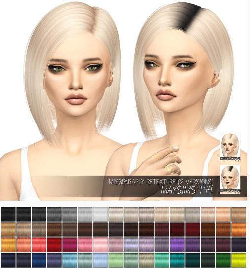 Miss Paraply: Maysims 144: Solids & Dark Roots