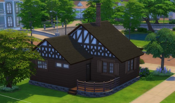 Mod The Sims: Forest Cottage Starter by  dreamshaper