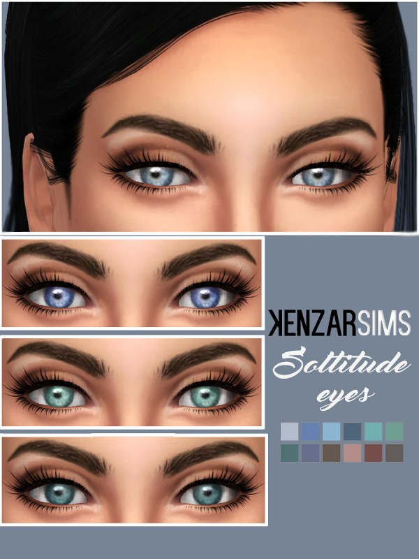 Kenzar Sims Soltitude Eyes Sims 4 Downloads