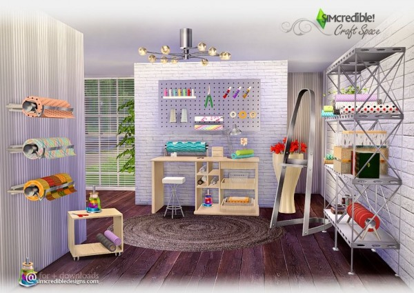 Simcredible Designs Craft Space Sims 4 Downloads