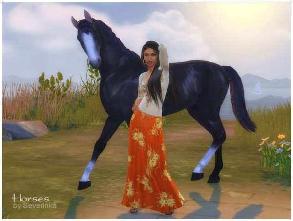 Sims by Severinka: Horses (decor) • Sims 4 Downloads