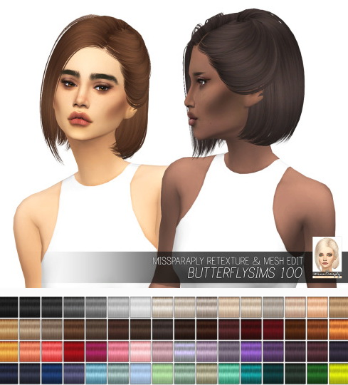 Miss Paraply: Butterflysims 100: Solids