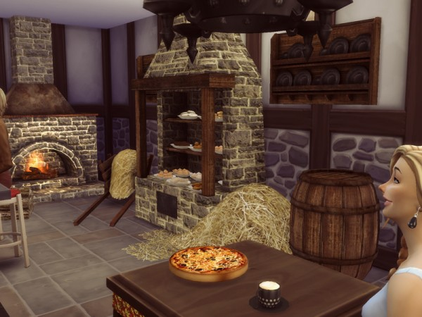 The Sims Resource Medieval Bakery By Kiolometro Sims 4