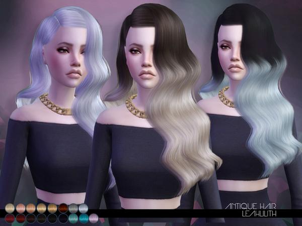 The Sims Resource: LeahLillith Antique Hair