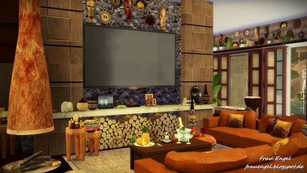 Frau Engel: Safari Lodge