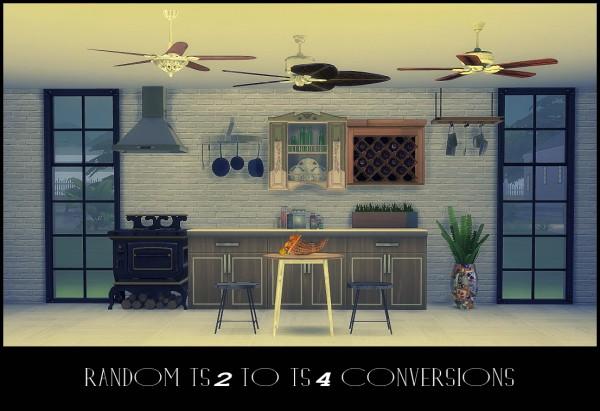 Sims 4 Designs: Random Ts2 to Ts4 Conversions