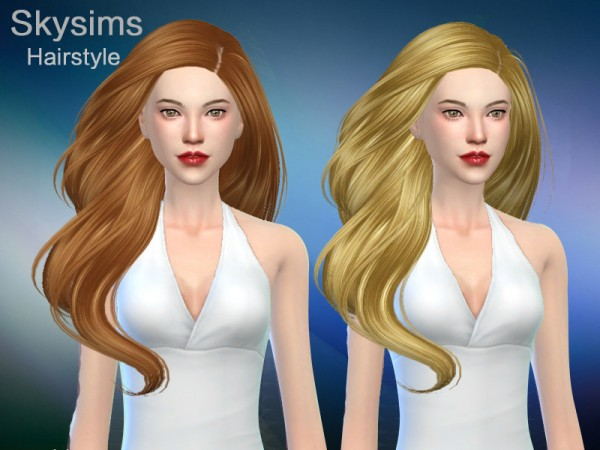 The Sims Resource: Skysims hair 285 Grace