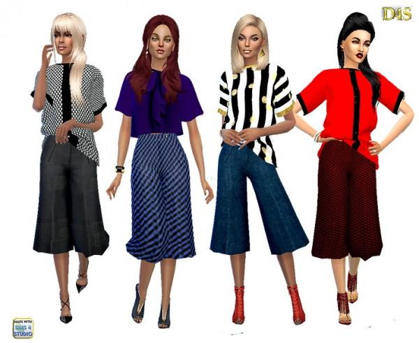Dreaming 4 Sims: Wideleg midlenght pants