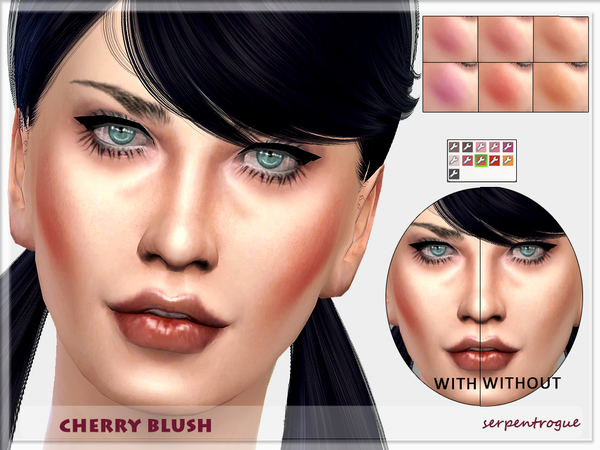 The Sims Resource: Cherry Blush by Serpentrogue