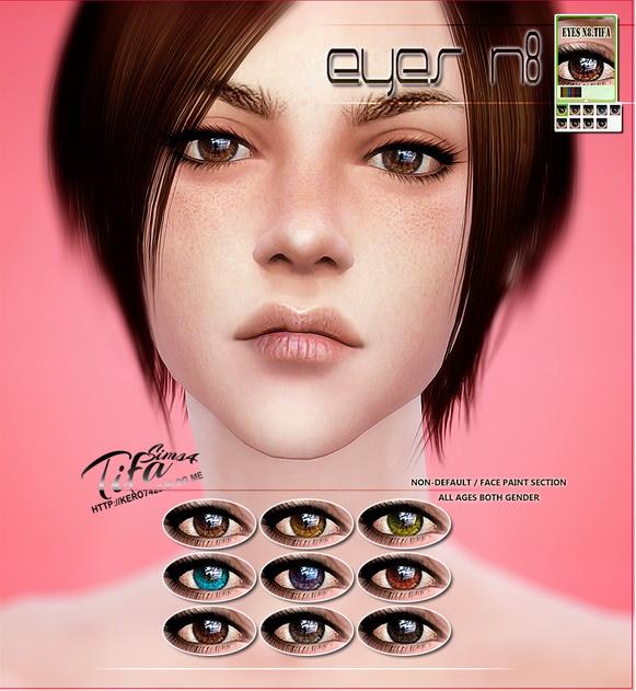 Tifa Sims: Eyes N8