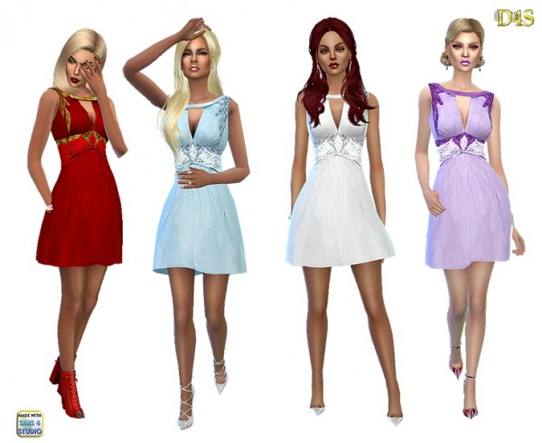 Dreaming 4 Sims: Day dreams dress