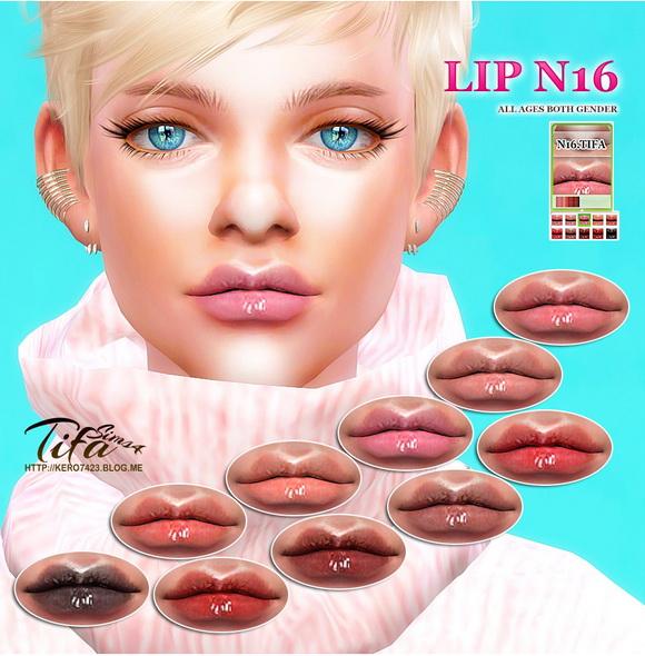 Tifa Sims: Lips N16