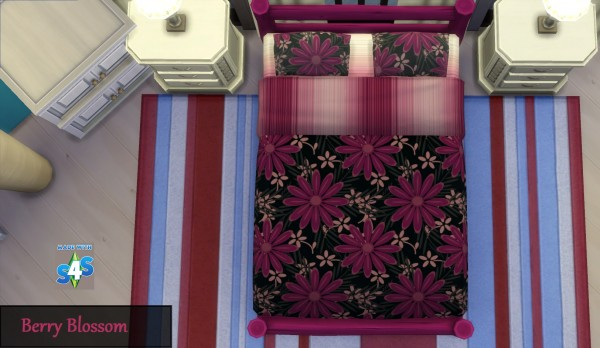 Mod The Sims: GP01 16 Mixed Bedcover Designs by wendy35pearly