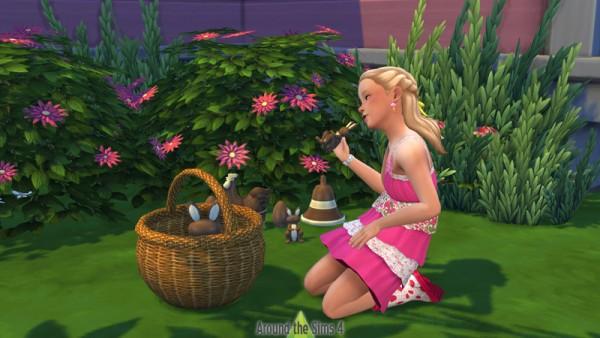 Around The Sims 4: Easter Chocolates