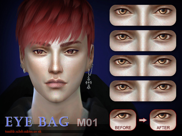 The Sims Resource: S Club LL thesims4 Eyebag M01