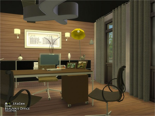 The Sims Resource: Beauvais Office by ArtVitalex