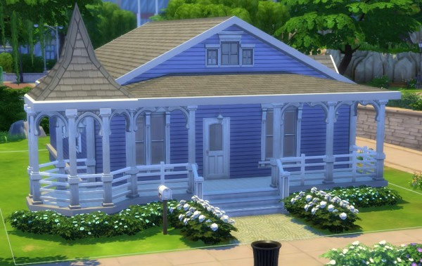 Mod The Sims: Victorian Inspired Starter by dreamshaper