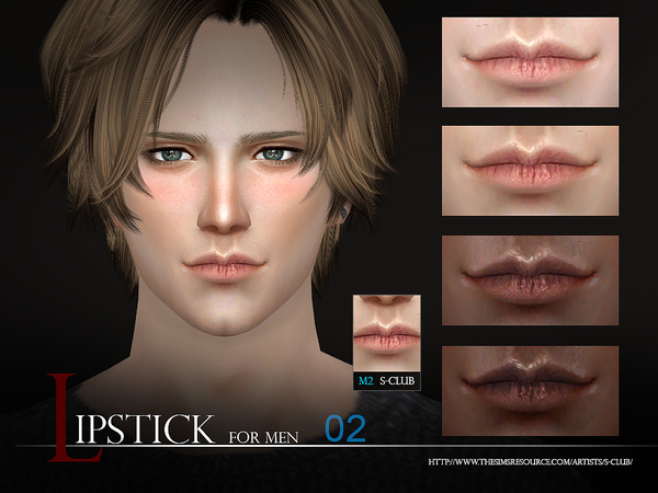 The Sims Resource: Lipstick Men 02 by S Club