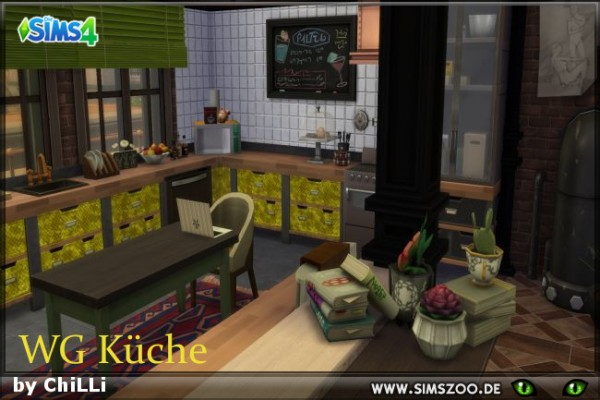 Blackys Sims 4 Zoo: WG kitchen by ChiLLi