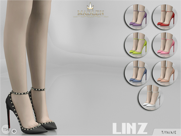 The Sims Resource: Madlen Linz Shoes by MJ95