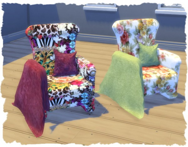 All4Sims: Sessel Chill armchair by Chalipo