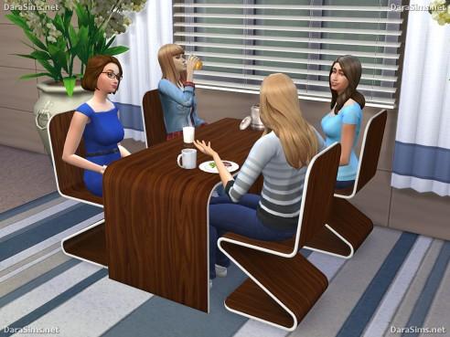 Dara Sims: Dining Furniture Set