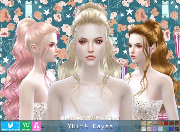 NewSea: YU194 Kaysa donation hairstyle
