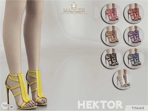 The Sims Resource: Madlen Hektor Shoes by MJ95