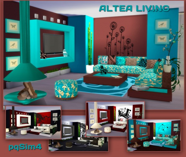 Sims 4 Cc S The Best Windows And Door Decor By Maximss: PQSims4: Altea Living • Sims 4 Downloads