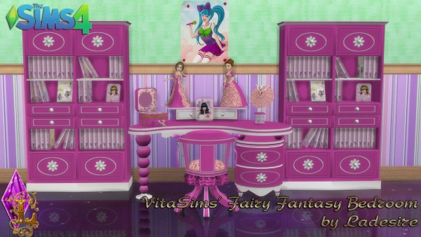 Ladesire Creative Corner: VitaSims Fairy Fantasy Bedroom