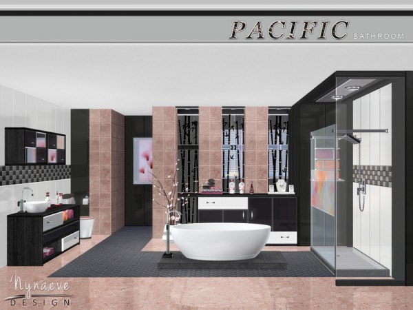 The Sims Resource Pacific Heights Bathroom By