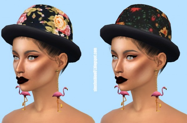 Sims Fashion 01: Flower Hat