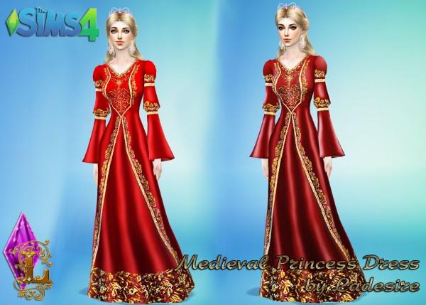 Ladesire Creative Corner Medieval Princess Dress Sims 4