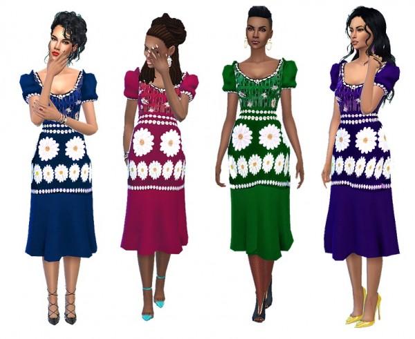 Dreaming 4 Sims: Ceci dress
