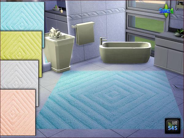 Arte Della Vita: 2 sets of bath rugs in 4 colors