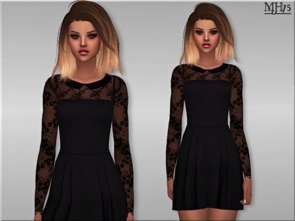Sims Addictions: Milliana Dress by Margies Sims