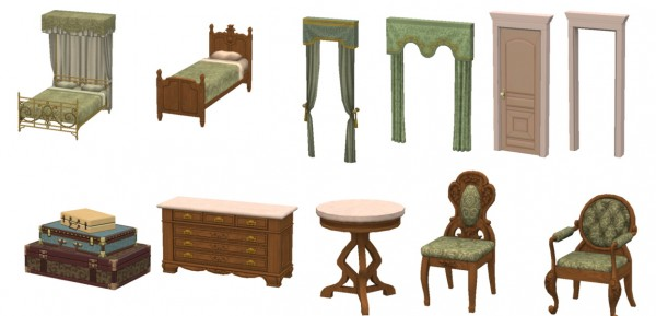 ... Sims 4 Designs: Regal Living Bedroom
