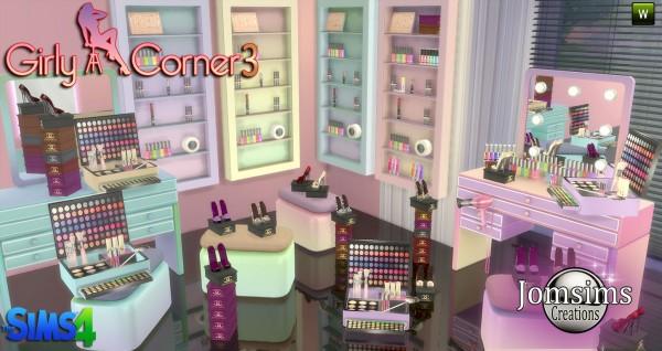 Jom Sims Creations Girly Corner 3 Sims 4 Downloads