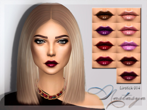 Nastas`ya: Lipstick 014