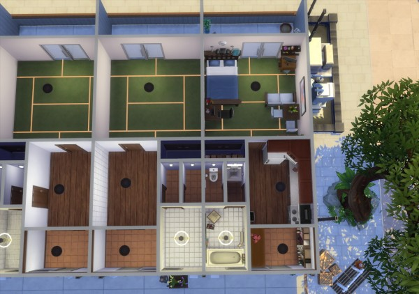 Enure Sims Togane Tama 1k Japanese Apartment No Cc Sims
