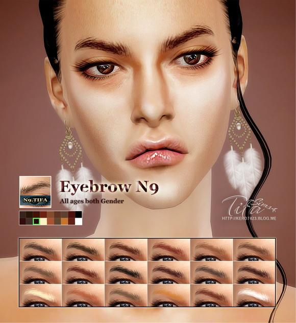 Tifa Sims: Eyebrow N9