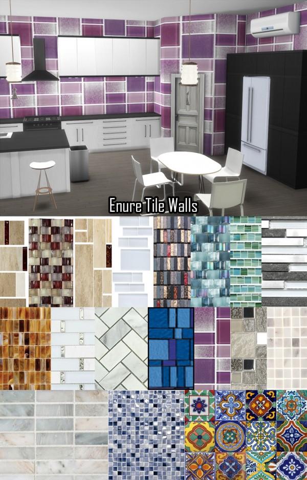 Enure Sims: Tile Wallpaper • Sims 4 Downloads