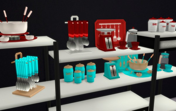 PQSims4: Clutter Altea Kitchen