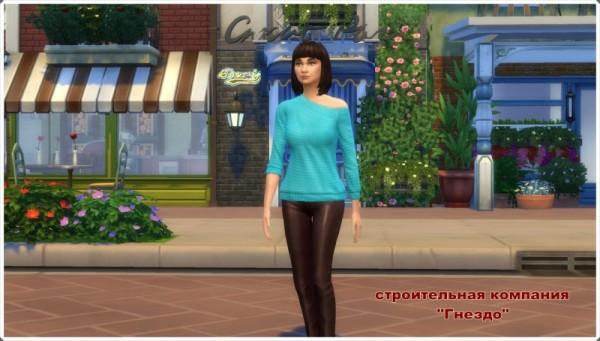Sims 3 by Mulena: Nostalygiya coffe shop