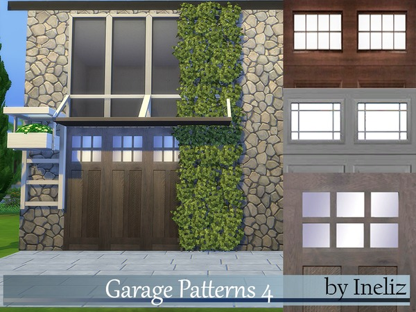 The Sims Resource: Garage Patterns 4 by Ineliz