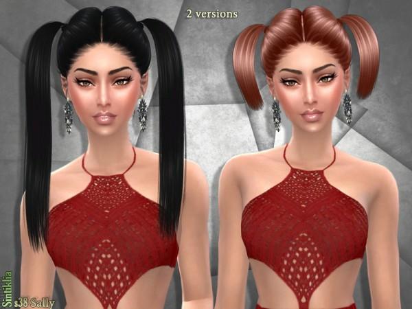 The Sims Resource: Sintiklia   Hair set s38 Sally
